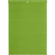 Lichtblick Plissee Klemmfix, Thermo, ohne Bohren  Grün Breite: 100 cm, Länge: 130 cm