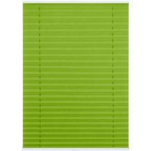 Lichtblick Plissee Klemmfix TOP, ohne Bohren, verspannt  Grün Breite: 100 cm, Länge: 130 cm