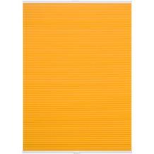 Lichtblick Plissee Klemmfix TOP, Thermo, ohne Bohren, verspannt  Gelb Breite: 100 cm, Länge: 130 cm