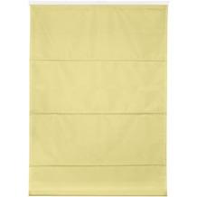 Lichtblick Raffrollo Klemmfix TOP, ohne Bohren, verspannt  Gelb Breite: 100 cm, Länge: 130 cm