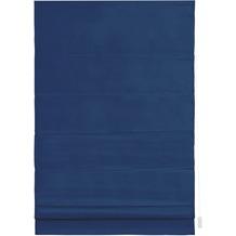 Lichtblick Raffrollo Verdunkelung, Seitenzug  Blau Breite: 100 cm