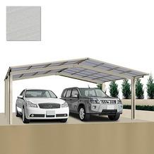 Ximax Carport Linea-60 M-Ausführung Edelstahl-Look