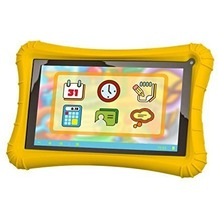 Xoro KidsPAD 703 (7'', 1,3 GHz Quad-Core, 1 GB, 8 GB), gelb