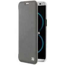 xqisit Flap Cover Adour for Galaxy S8 grey