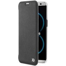xqisit Flap Cover Adour for Galaxy S8 Plus black