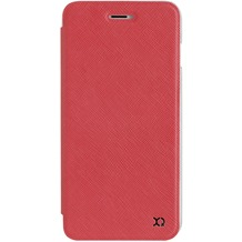 xqisit Flap Cover Adour for iPhone 7 Plus rot