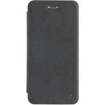 xqisit Flap Cover Adour for iPhone 7 Plus schwarz