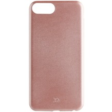xqisit iPlate Gimone for iPhone 7 Plus rose gold col.