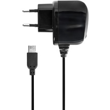 xqisit Reise Lader 2A microUSB for Universal schwarz