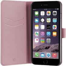 xqisit Wallet Case Viskan for iPhone 7 Plus rose gold col.