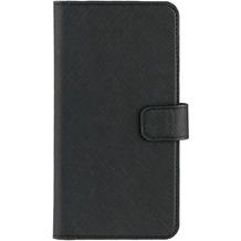 xqisit Wallet Case Viskan for iPhone 7 Plus schwarz