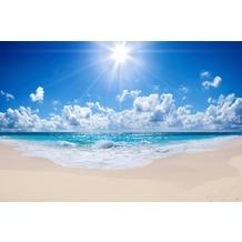 XXLwallpaper Fototapete Beach 3 SK-Folie 2,00 m x 1,33 m