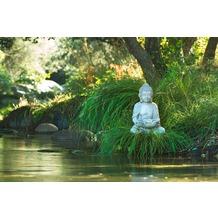 XXLwallpaper Fototapete Buddha at Lake SK-Folie 2,00 m x 1,33 m