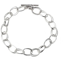 ZEEme Silver Armband 925/- Sterling Silber 19cm lang weiß