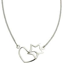ZEEme Silver Collier 925/- Sterling Silber weiß