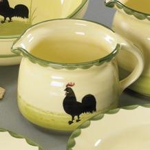 zeller keramik Milchtopf 0,5l Hahn und Henne