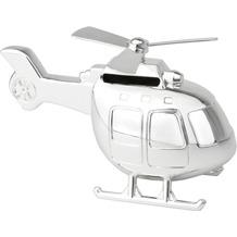 Zilverstad Spardose Helikopter  Silber