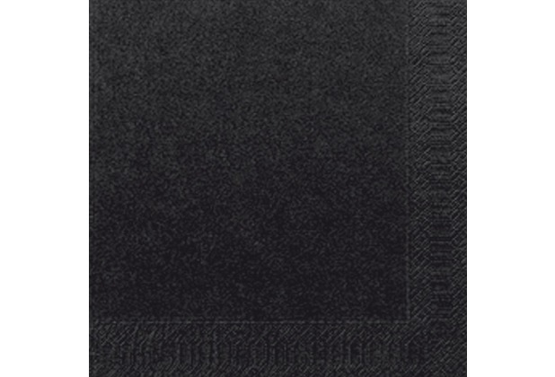 duni servietten 3lagig tissue uni schwarz 33 x 33 cm 250 st ck. Black Bedroom Furniture Sets. Home Design Ideas