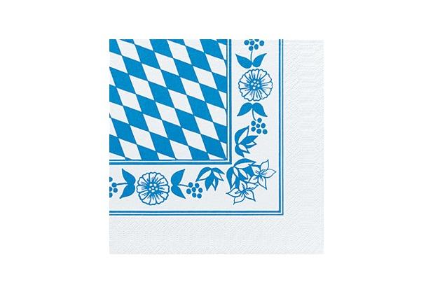 duni servietten 3lagig tissue motiv bayraute 33 x 33 cm 50 st ck. Black Bedroom Furniture Sets. Home Design Ideas