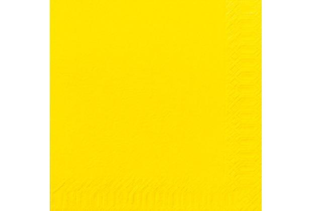 duni servietten 3lagig tissue uni gelb 33 x 33 cm 250 st ck. Black Bedroom Furniture Sets. Home Design Ideas