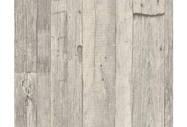 as cr ation mustertapete in holzoptik dekora natur tapete perlwei schwarzoliv. Black Bedroom Furniture Sets. Home Design Ideas