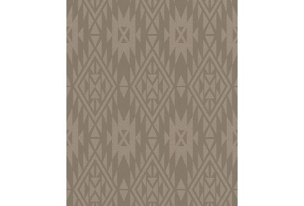 barbara becker vliestapete b b home passion braun 714951. Black Bedroom Furniture Sets. Home Design Ideas
