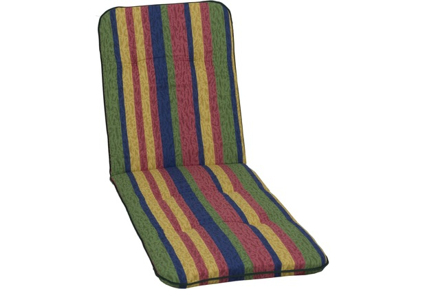 beo paspelauflage liegenauflage capri l ngsstreifen in blau rot gelb gr n. Black Bedroom Furniture Sets. Home Design Ideas