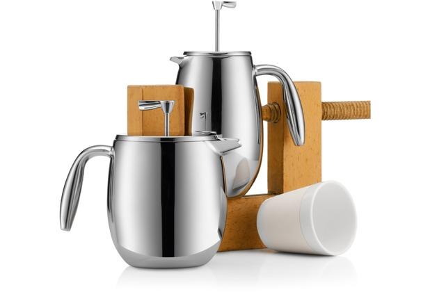 bodum columbia kaffeebereiter 1 0 l 8 tassen gl nzend ebay. Black Bedroom Furniture Sets. Home Design Ideas