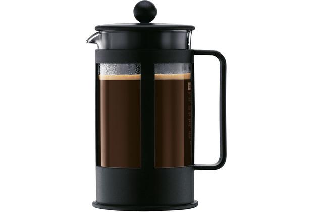 bodum kenya kaffeebereiter 1 0 l 8 tassen schwarz. Black Bedroom Furniture Sets. Home Design Ideas