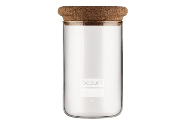 bodum yohki vorratsglas mit korkdeckel 0 6 l kork. Black Bedroom Furniture Sets. Home Design Ideas