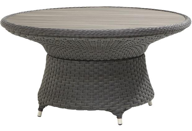 Gartenmobel Bauen Mit Paletten : Bukatchi Annecy Dining Tisch, rund, grau 150 cm bei Hertie kaufen