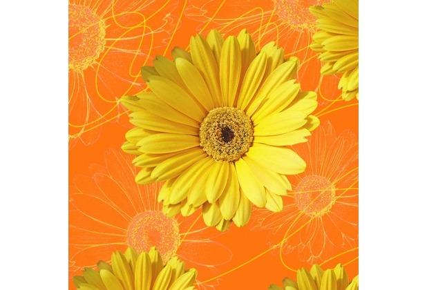Duni servietten 3lagig tissue motiv gerbera yellow 33 x for Duni servietten weihnachten