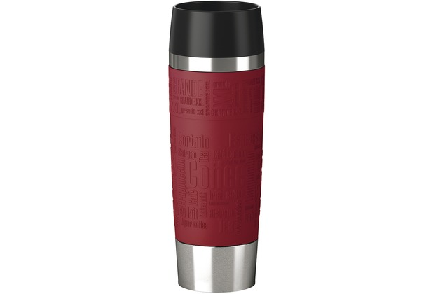 emsa isolierbecher travel mug grande manschette rot 0 50 liter ebay. Black Bedroom Furniture Sets. Home Design Ideas