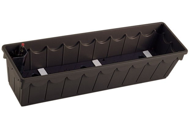 emsa palazzo blumenkasten dunkelbraun 75x22x18cm 75x22x18cm ebay. Black Bedroom Furniture Sets. Home Design Ideas