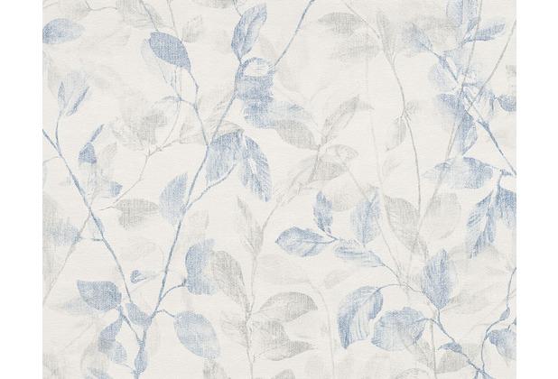 """Tapeten Schlafzimmer Esprit : Esprit Home Mustertapete \""""Denim\"""", Tapete, blau, creme 10,05 m x 0,53"""