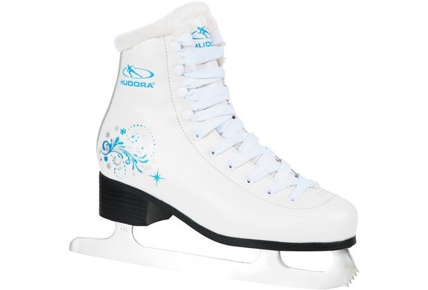 HUDORA Eislaufkomplet Elsa, Größe 34, weiß