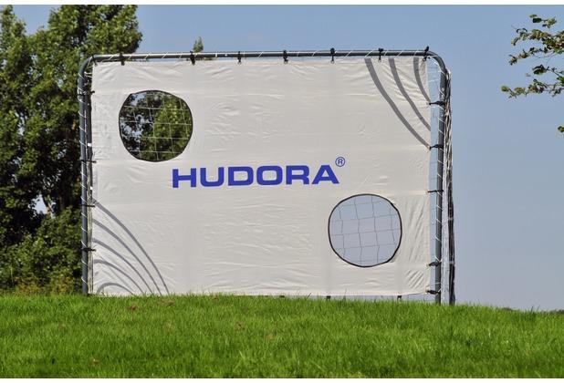 HUDORA Fußballtor Freekick mit Torwand, 213 x 152 x 76 cm, 32 mm Rohrdurchmesser