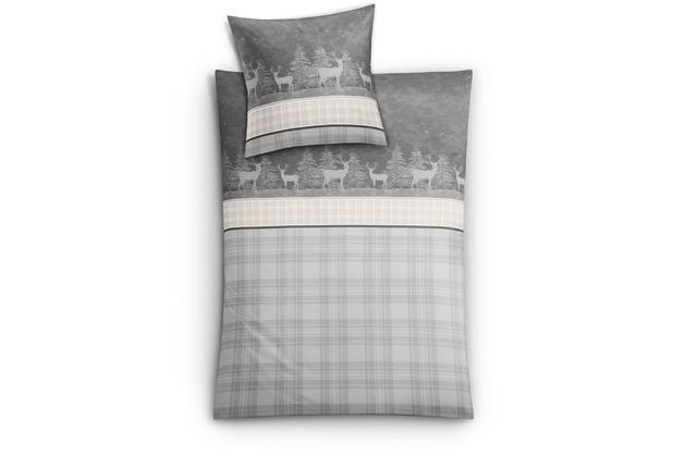 kleine wolke bettw sche chiasso anthrazit. Black Bedroom Furniture Sets. Home Design Ideas