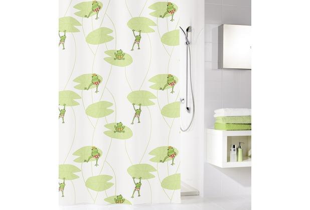 kleine wolke duschvorhang frog multicolor 180 x 200 cm. Black Bedroom Furniture Sets. Home Design Ideas