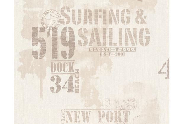 Livingwalls Surfing & Sailing hochwertige Mustertapete ...