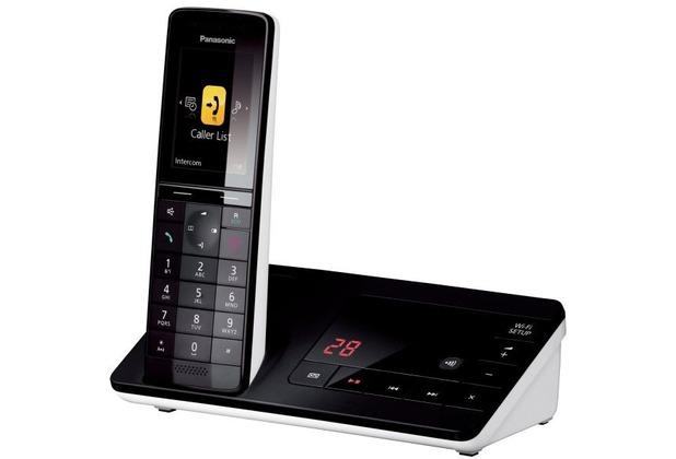 panasonic kx prw130gw dect telefon mit wlan repeater ab. Black Bedroom Furniture Sets. Home Design Ideas