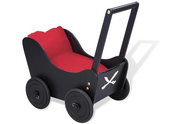pinolino lauflernwagen pirat fabian schwarz ebay. Black Bedroom Furniture Sets. Home Design Ideas