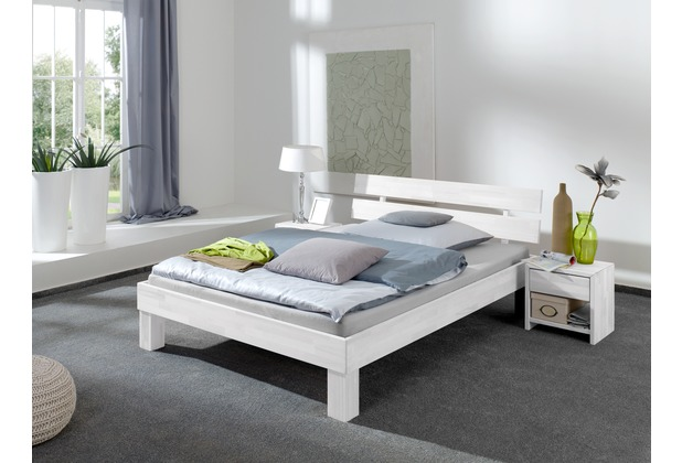 relita futonbett julia buche 180 white wash. Black Bedroom Furniture Sets. Home Design Ideas