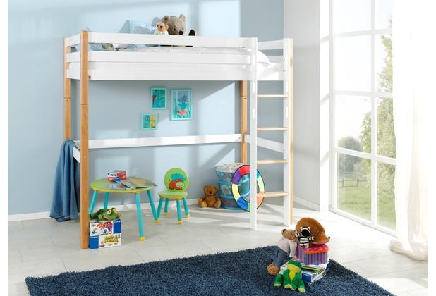 relita hochbett toli 90x200 bicolor. Black Bedroom Furniture Sets. Home Design Ideas