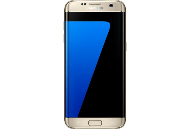 Samsung Galaxy S7 edge, gold-platinum