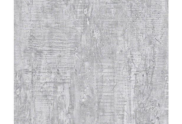 sch ner wohnen uni strukturtapete tapete grau. Black Bedroom Furniture Sets. Home Design Ideas