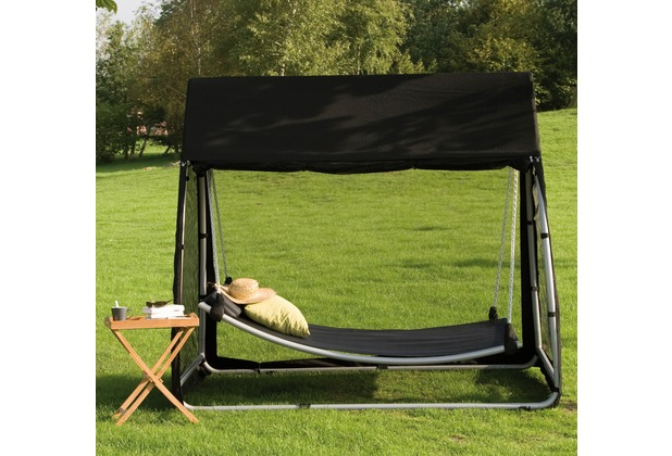 siena garden h ngematte stahluntergestell silber. Black Bedroom Furniture Sets. Home Design Ideas