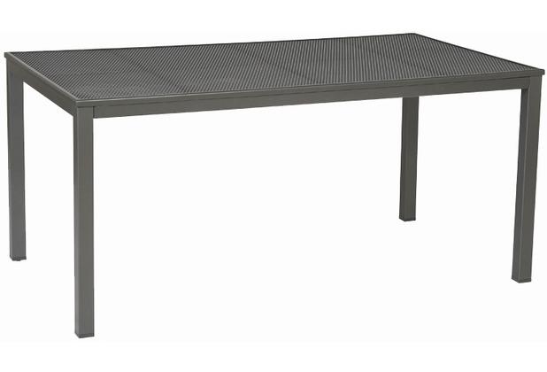 siena garden loft tisch stahlgestell eisengrau. Black Bedroom Furniture Sets. Home Design Ideas