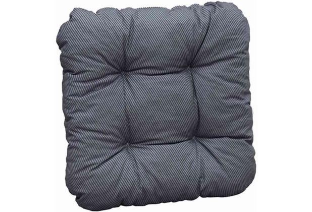 sun garden sitzkissen susa dessin 50310 700 anthrazit bezug baumwolle polyester mischgewebe. Black Bedroom Furniture Sets. Home Design Ideas