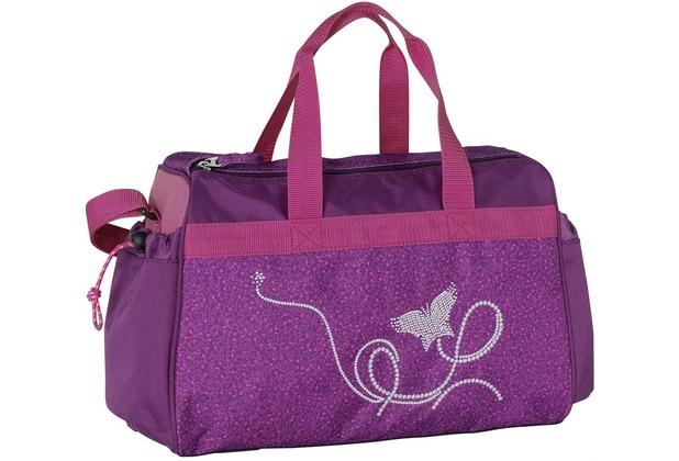Спортивная сумка Марлен Сумка для спорта, непромокаемая, два боковых кармана, с дополнительной длинной ручкой
